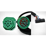 VDO RoadLog 9-Pin Y (Green) Installation Kit with Plastic Nut