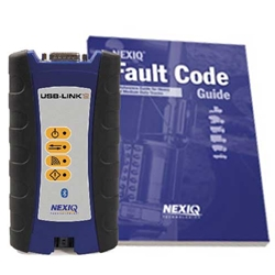 Nexiq USB Link 2 with Fault Code Guide